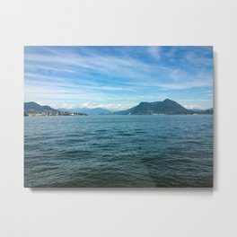 A shot from Isola Bella Metal Print