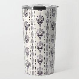 Art Nouveau ornamental motif Jugenstil style. Travel Mug