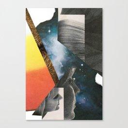 2001 - face odyssey Canvas Print