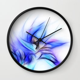 Night Bloom Invert Wall Clock