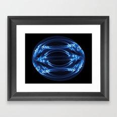 Magnetic Egg Framed Art Print