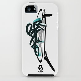 """ondbiqp"" iPhone Case"