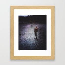 The Rain That Caress Me Framed Art Print