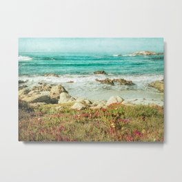 Scenic Photography, Beach, 17 Mile Drive, Monterey, Pebble Beach, Pacific Grove,  Metal Print