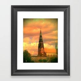The Steeple Framed Art Print