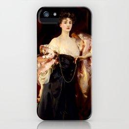 "John Singer Sargent ""Portrait of Lady Helen Vincent"" iPhone Case"