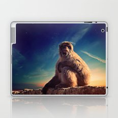 Daydreaming Macaque Laptop & iPad Skin