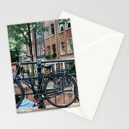 Bicycles in Amsterdam Stationery Cards