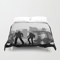 last of us Duvet Covers featuring The Last of Us : Limbo edition by Carbatine