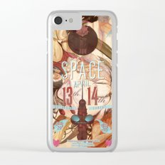 space (2013) Clear iPhone Case