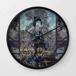 Once Upon A Time in Tokyo V Wall Clock