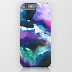 Blue Swirls Slim Case iPhone 6s