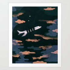 Airplane Angst Art Print