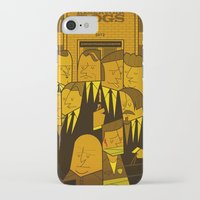 reservoir dogs iPhone & iPod Cases featuring Reservoir Dogs by Ale Giorgini