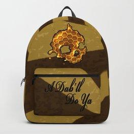 Honey comb splat skull Backpack