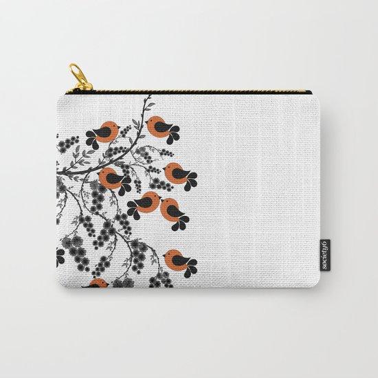 orange birds Carry-All Pouch