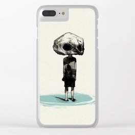 Skull Kid Clear iPhone Case