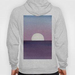 Moonset Watercolor Hoody