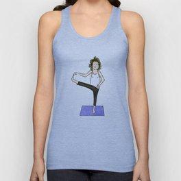 Yoga Folks. Balancing Pose.   Unisex Tank Top