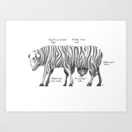 Sheep give us... Art Print