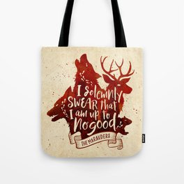 I solemnly swear Tote Bag