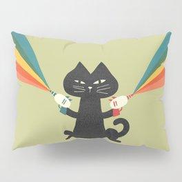 Ray gun cat Pillow Sham