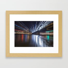 Zoom City Framed Art Print