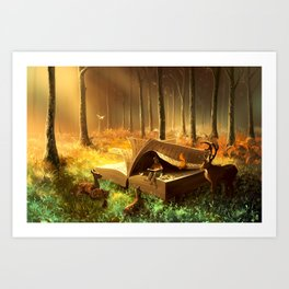 A safe place where you can go Art Print