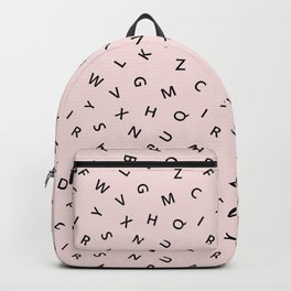 The Missing Letter Alphabet Backpack