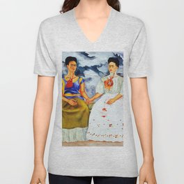 TWO FRIDAS Unisex V-Neck