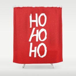 Christmas Ho-Ho-Ho Shower Curtain