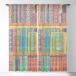 Library Sheer Curtain