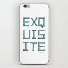 EXQUISITE iPhone & iPod Skin