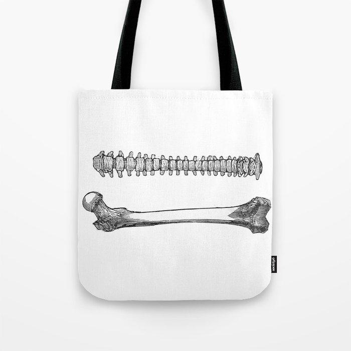 Femur spinal Tote Bag