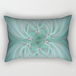 Daisy Twirl Rectangular Pillow