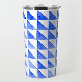 Watercolor pattern 2 - Tiles Travel Mug