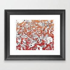 I Lost My Keys Framed Art Print