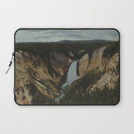 Yellowstone National Park Falls Laptop Sleeve