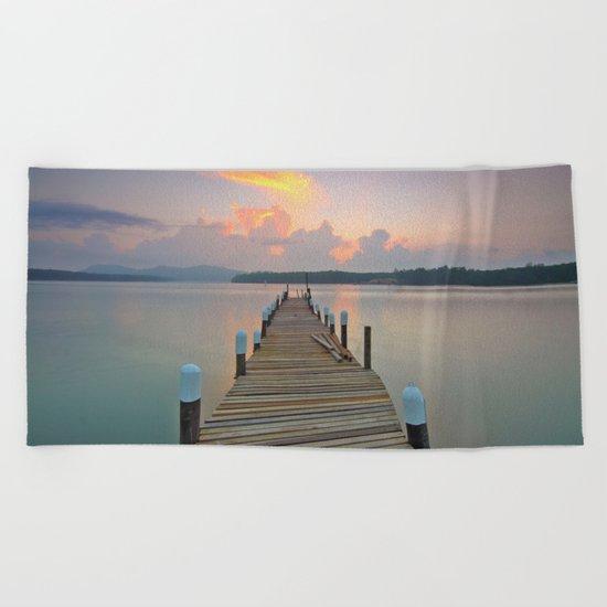 Dock Days Beach Towel