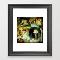 Elements III - Earth Dance Framed Art Print