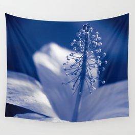 Enchanting Moments - Pua Aloalo - Koki'o Ke'oke'o - Hibiscus Arnottianus - Hawaiian White Hibiscus Wall Tapestry