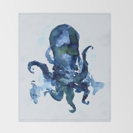 Oceanic Octo Throw Blanket
