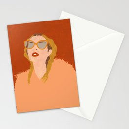 Peach Fuzz Stationery Cards