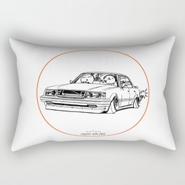 Crazy Car Art 0199 Rectangular Pillow