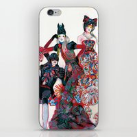 gilmore girls iPhone & iPod Skins featuring Girls by Felicia Atanasiu