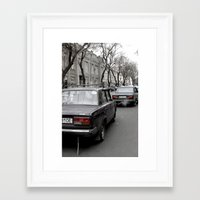ukraine Framed Art Prints featuring Odessa Ukraine by Sanchez Grande