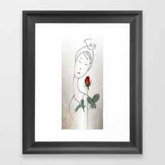 A non-word mood Framed Art Print