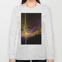 Ethereal Flame with Stars Long Sleeve T-shirt