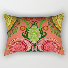 Ranunculi Waltz Rectangular Pillow