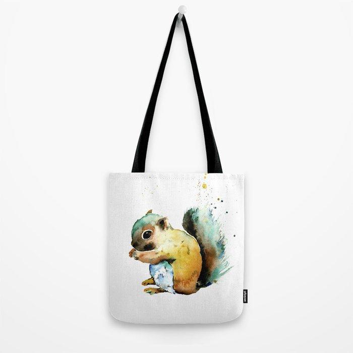 Squirrel - Nuts Tote Bag